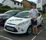 Joseph Bevan passed with XLR8 Wales Driving School
