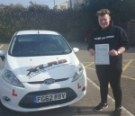 Josh Griffiths passed with XLR8 Wales Driving School