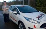 Julie Ann Fox passed with XLR8 Wales Driving School