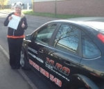 Justyna Madaj passed with XLR8 Wales Driving School
