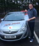 Karl Cooper passed with XLR8 Wales Driving School