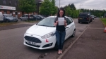 Karly Adams passed with XLR8 Wales Driving School