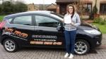 Kate Giffard passed with XLR8 Wales Driving School