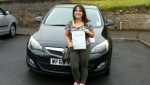 Kathryn Gray passed with XLR8 Wales Driving School