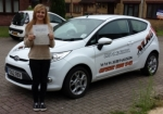 Katy Roberts passed with XLR8 Wales Driving School