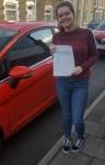 Kiah Evans passed with XLR8 Wales Driving School