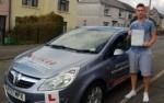 Kieran passed with XLR8 Wales Driving School