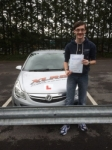 Stephen Griffiths passed with XLR8 Wales Driving School