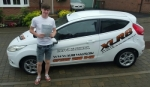 Kieron Symon passed with XLR8 Wales Driving School
