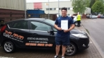 Keiran Moroney passed with XLR8 Wales Driving School