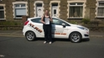 Kimberley Parry  passed with XLR8 Wales Driving School