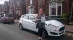 Kirsty Evans passed with XLR8 Wales Driving School