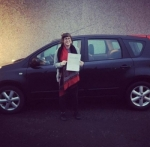 Kirsty Godsall passed with XLR8 Wales Driving School