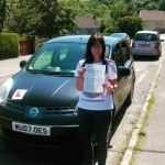 Laura Bennett passed with XLR8 Wales Driving School