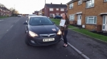 Laura Jones passed with XLR8 Wales Driving School