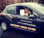 Lauren Jones passed with XLR8 Wales Driving School
