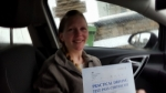 Leannae Jones passed with XLR8 Wales Driving School