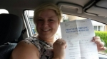 Leisha Marshall passed with XLR8 Wales Driving School