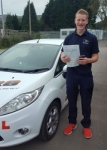 Lewys Morgan passed with XLR8 Wales Driving School