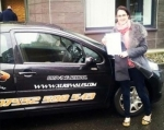 Liane Loat passed with XLR8 Wales Driving School