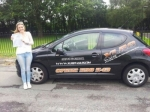 Lowrie Davies passed with XLR8 Wales Driving School