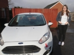 Lucy Dyer passed with XLR8 Wales Driving School