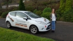 Lucy Willis passed with XLR8 Wales Driving School