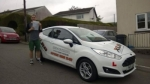 Luke Neale passed with XLR8 Wales Driving School