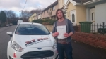 Luke Taylor passed with XLR8 Wales Driving School