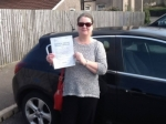 Lyn Reeves passed with XLR8 Wales Driving School
