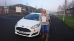 Lynsey James passed with XLR8 Wales Driving School