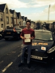 Marcus Stanway-Williams passed with XLR8 Wales Driving School