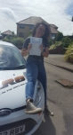Maria Horler passed with XLR8 Wales Driving School