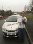Martin Davies passed with XLR8 Wales Driving School
