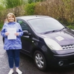 Mary Pearce passed with XLR8 Wales Driving School