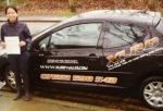 Mary passed with XLR8 Wales Driving School