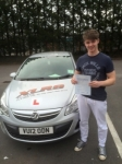 Matthew Davies passed with XLR8 Wales Driving School