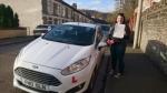 Meghan Jones passed with XLR8 Wales Driving School