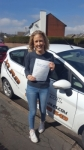 Megan Lewis passed with XLR8 Wales Driving School