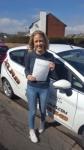 Megan Lewis passed with XLR8 Wales Driving School
