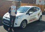 Megan Price passed with XLR8 Wales Driving School