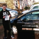 Mike Parry passed with XLR8 Wales Driving School