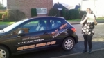 Natalie passed with XLR8 Wales Driving School