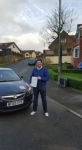 Nicholas Mathieson passed with XLR8 Wales Driving School