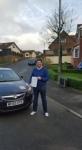 Nicholas Mathieson passed with XLR8 Wales Driving School