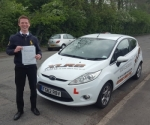Nick Jones passed with XLR8 Wales Driving School