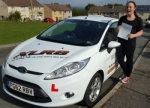 Oliva Bodman passed with XLR8 Wales Driving School