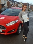 Poppy Miller passed with XLR8 Wales Driving School