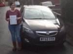 Rachael Davies passed with XLR8 Wales Driving School
