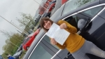 Rebecca Dennis passed with XLR8 Wales Driving School